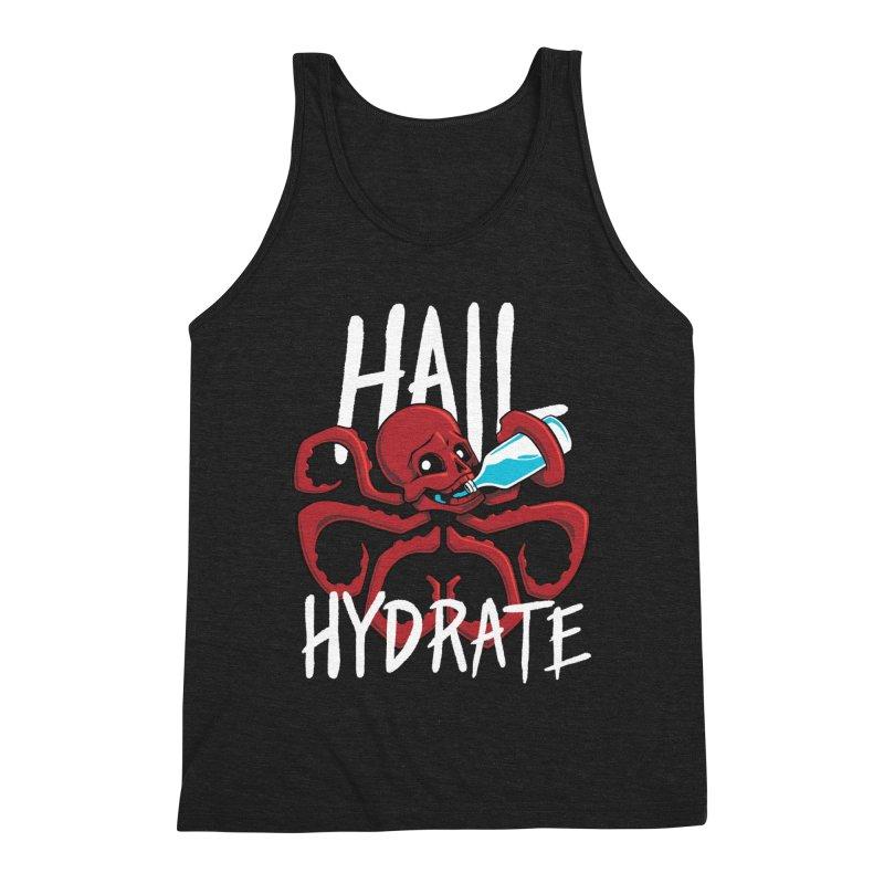 Hail Hydrate Men's Triblend Tank by Gyledesigns' Artist Shop