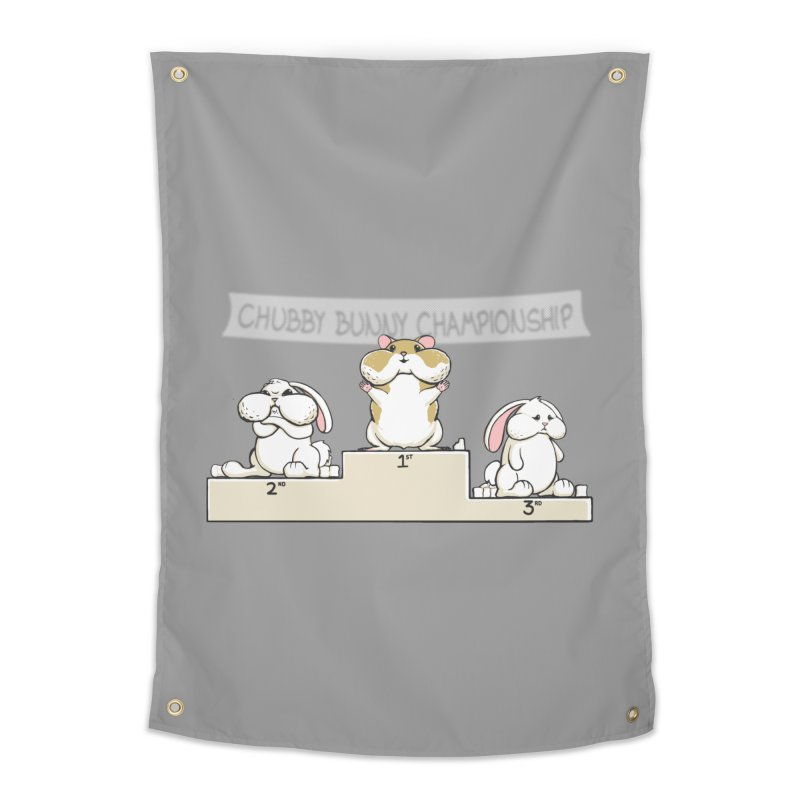 Chubby Bunny Home Tapestry by Gyledesigns' Artist Shop