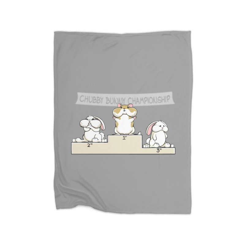 Chubby Bunny Home Blanket by Gyledesigns' Artist Shop