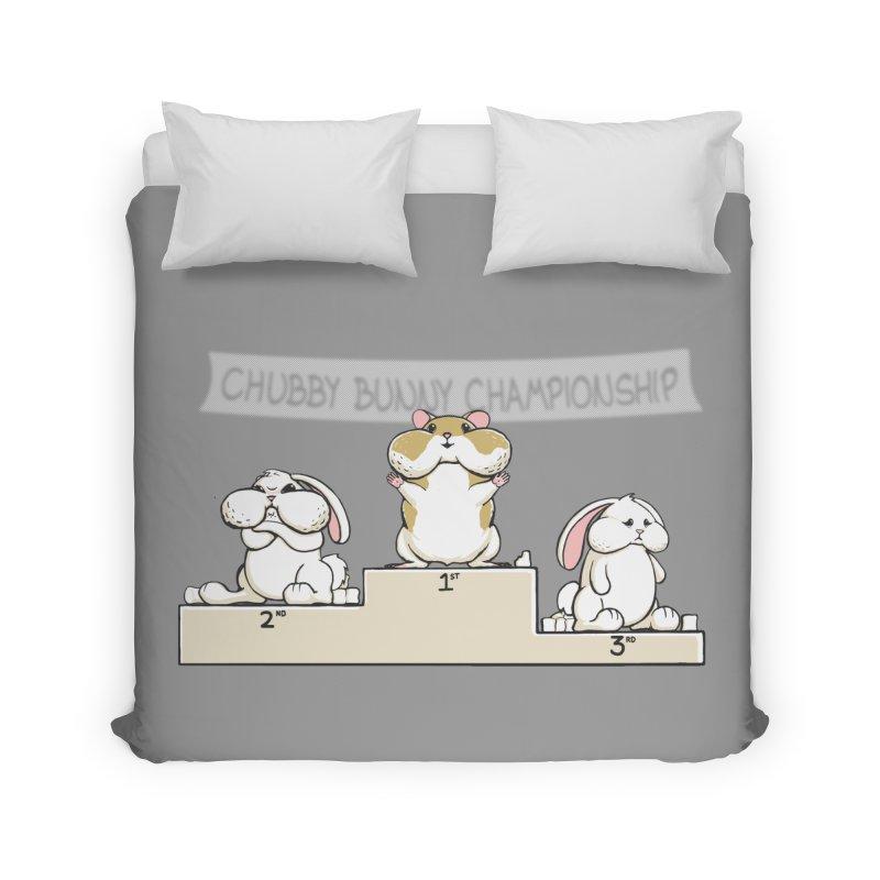Chubby Bunny Home Duvet by Gyledesigns' Artist Shop
