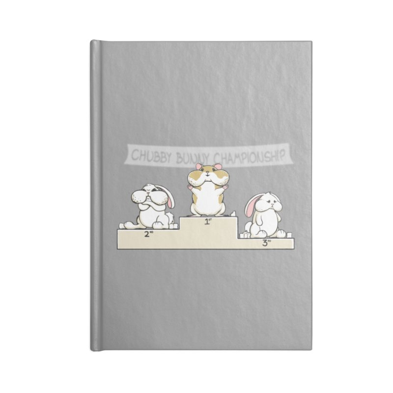 Chubby Bunny Accessories Notebook by Gyledesigns' Artist Shop