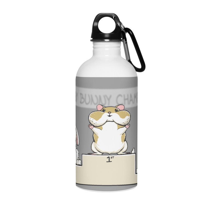 Chubby Bunny Accessories Water Bottle by Gyledesigns' Artist Shop