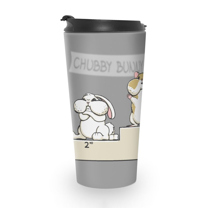 Chubby Bunny Accessories Travel Mug by Gyledesigns' Artist Shop