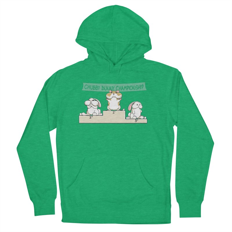 Chubby Bunny Men's French Terry Pullover Hoody by Gyledesigns' Artist Shop