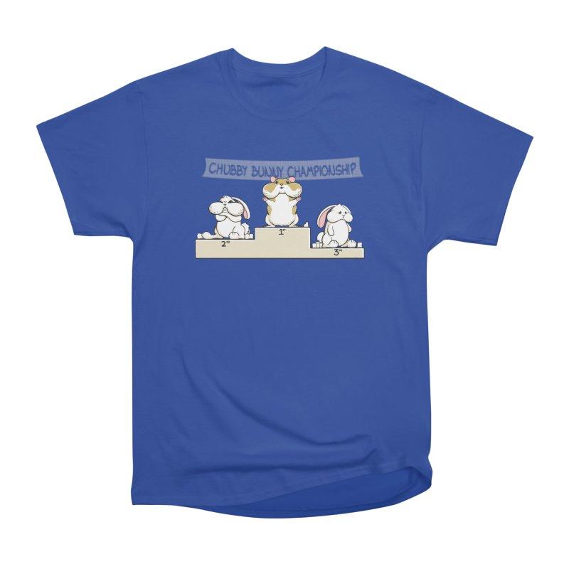 Chubby Bunny Men's Heavyweight T-Shirt by Gyledesigns' Artist Shop