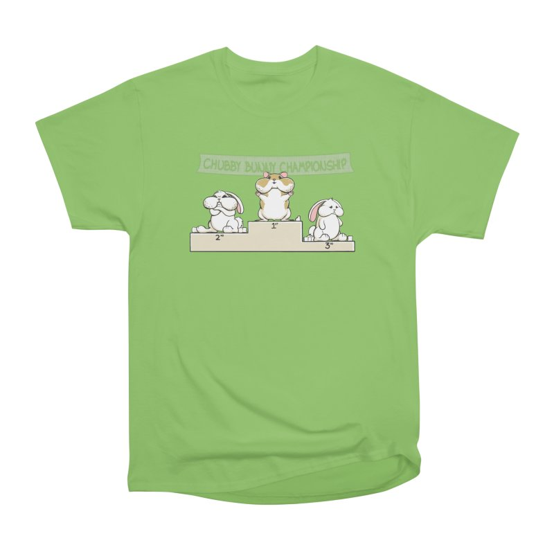 Chubby Bunny Men's Heavyweight T-Shirt by Gyledesigns' Artist Shop