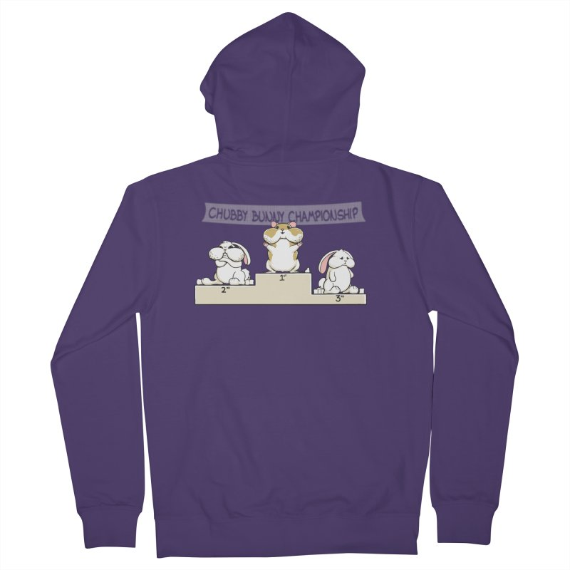Chubby Bunny Women's Zip-Up Hoody by Gyledesigns' Artist Shop