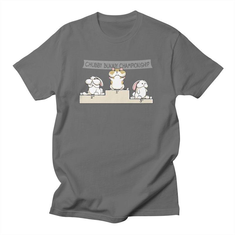 Chubby Bunny Women's Regular Unisex T-Shirt by Gyledesigns' Artist Shop
