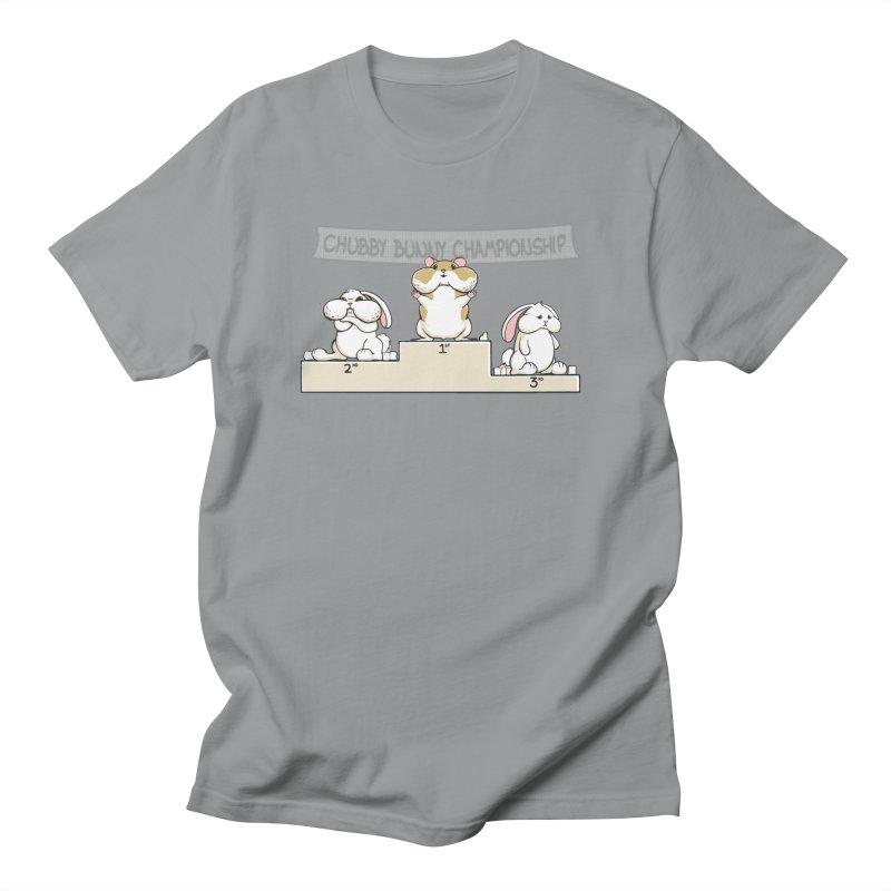 Chubby Bunny Women's Unisex T-Shirt by Gyledesigns' Artist Shop