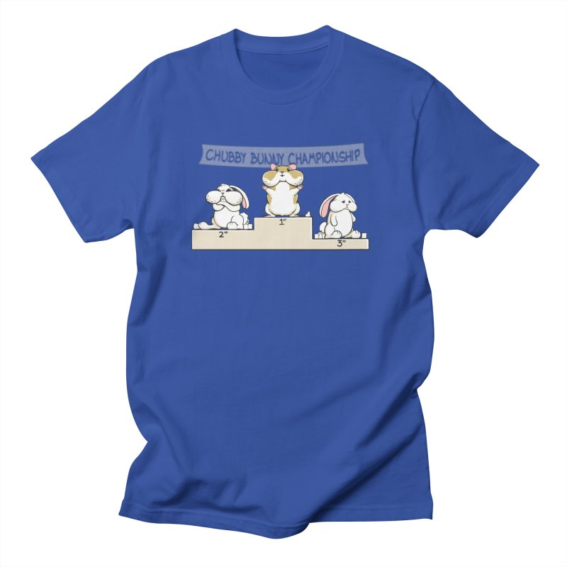 Chubby Bunny Men's Regular T-Shirt by Gyledesigns' Artist Shop