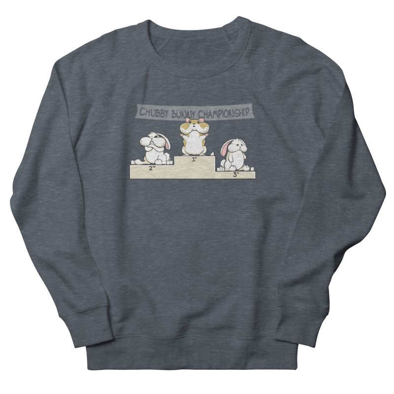 Chubby Bunny Women's French Terry Sweatshirt by Gyledesigns' Artist Shop