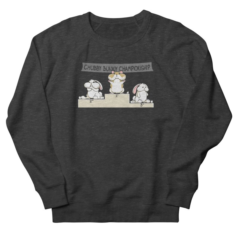 Chubby Bunny Men's Sweatshirt by Gyledesigns' Artist Shop