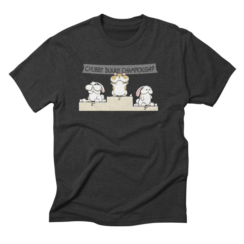 Chubby Bunny Men's Triblend T-Shirt by Gyledesigns' Artist Shop