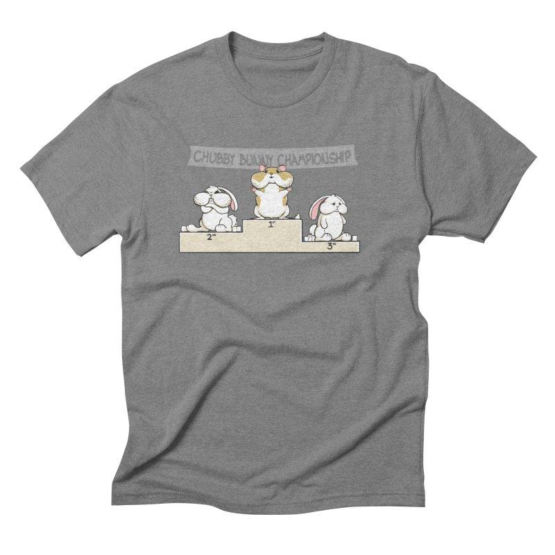 Chubby Bunny Men's Triblend T-Shirt by Gyledesigns' Artist Shop