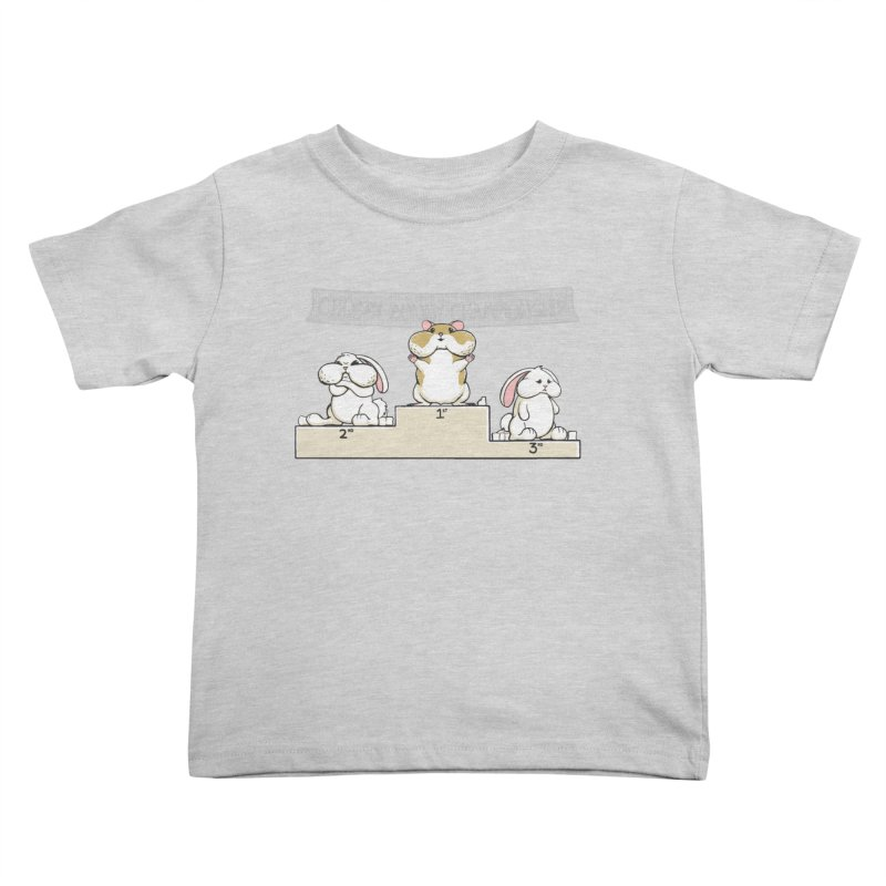 Chubby Bunny Kids Toddler T-Shirt by Gyledesigns' Artist Shop
