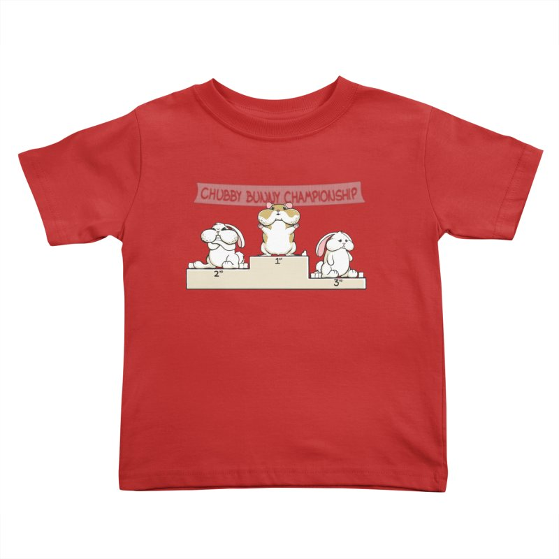 Chubby Bunny Kids Toddler T-Shirt by Gyledesigns' Artist Shop
