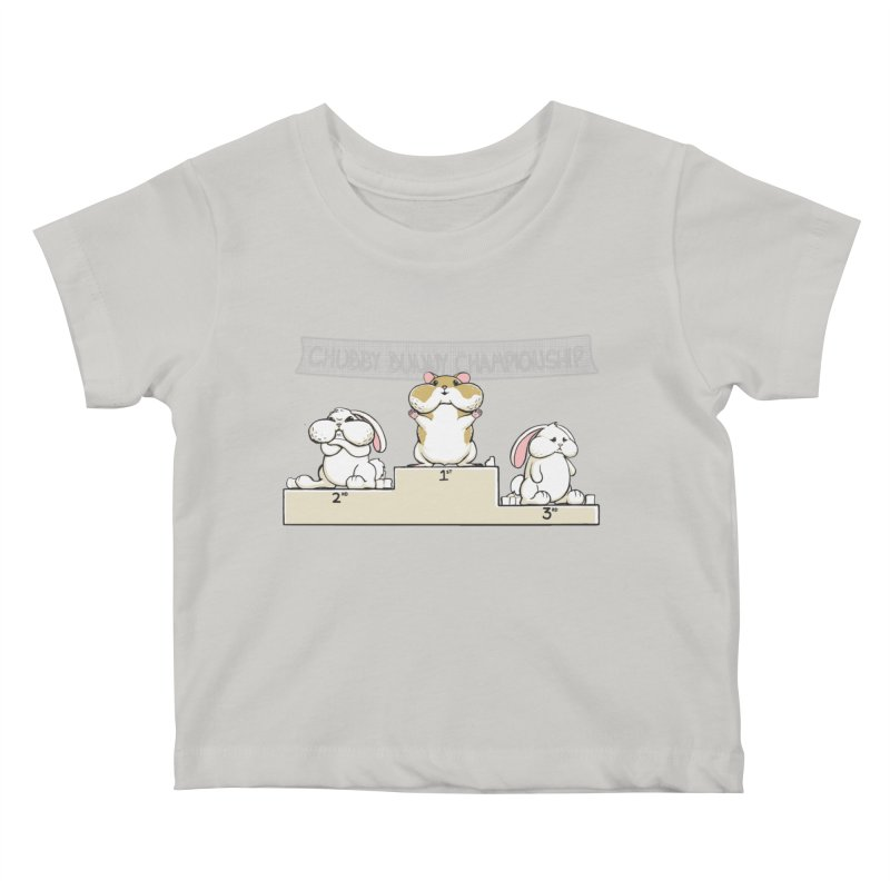 Chubby Bunny Kids Baby T-Shirt by Gyledesigns' Artist Shop