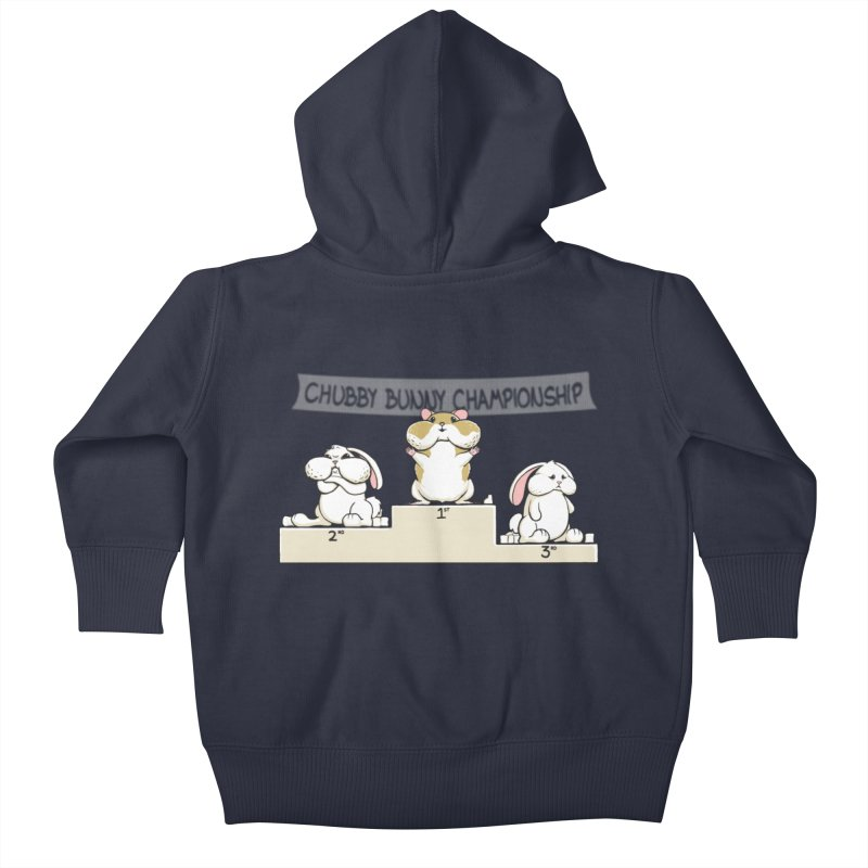 Chubby Bunny Kids Baby Zip-Up Hoody by Gyledesigns' Artist Shop