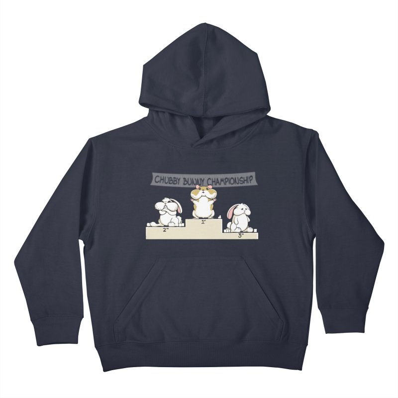 Chubby Bunny Kids Pullover Hoody by Gyledesigns' Artist Shop