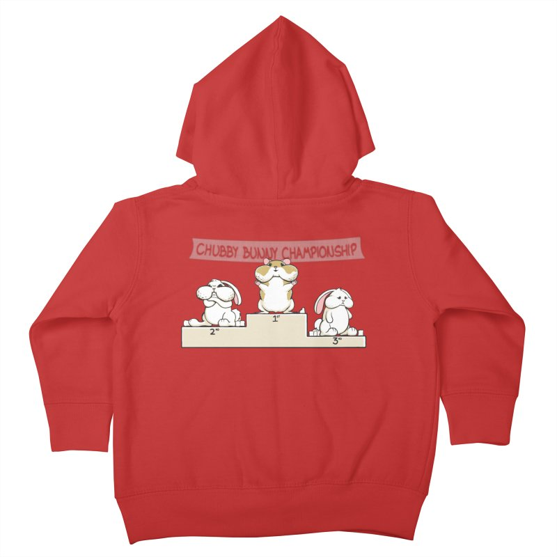 Chubby Bunny Kids Toddler Zip-Up Hoody by Gyledesigns' Artist Shop
