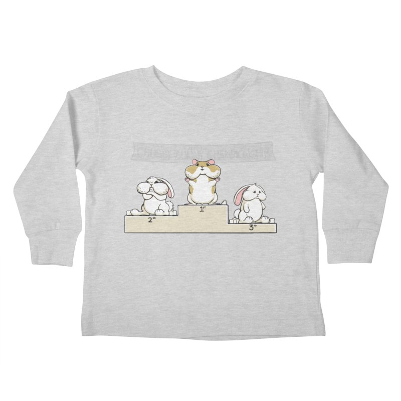 Chubby Bunny Kids Toddler Longsleeve T-Shirt by Gyledesigns' Artist Shop