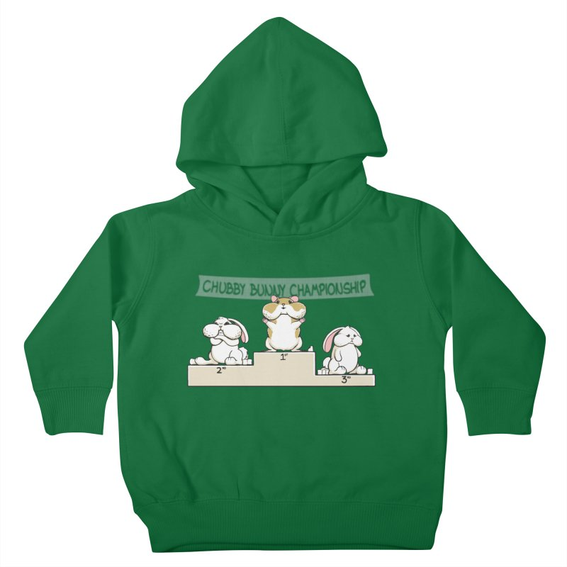 Chubby Bunny Kids Toddler Pullover Hoody by Gyledesigns' Artist Shop