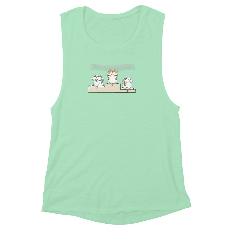 Chubby Bunny Women's Muscle Tank by Gyledesigns' Artist Shop