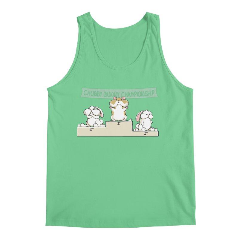 Chubby Bunny Men's Regular Tank by Gyledesigns' Artist Shop