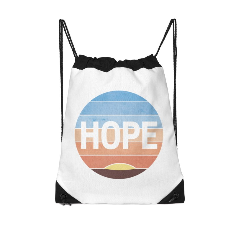 Hope Accessories Drawstring Bag Bag by Gyledesigns' Artist Shop