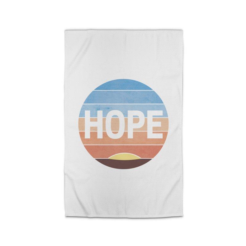 Hope Home Rug by Gyledesigns' Artist Shop