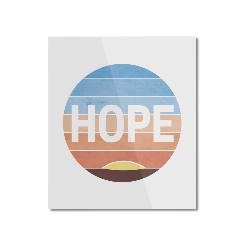 Hope Home Mounted Aluminum Print by Gyledesigns' Artist Shop