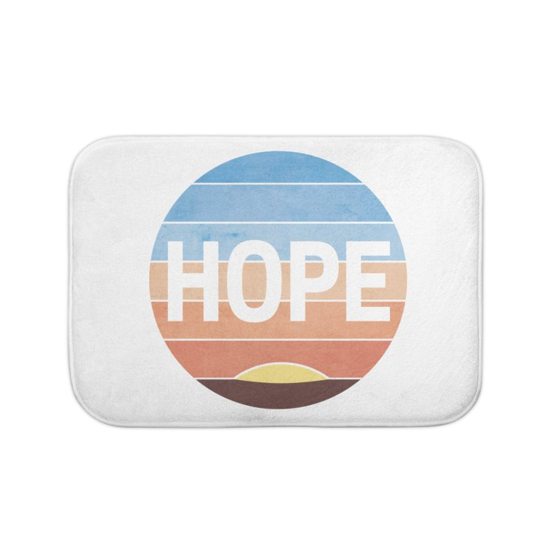 Hope Home Bath Mat by Gyledesigns' Artist Shop