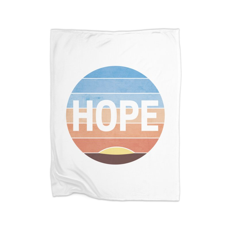 Hope Home Fleece Blanket Blanket by Gyledesigns' Artist Shop