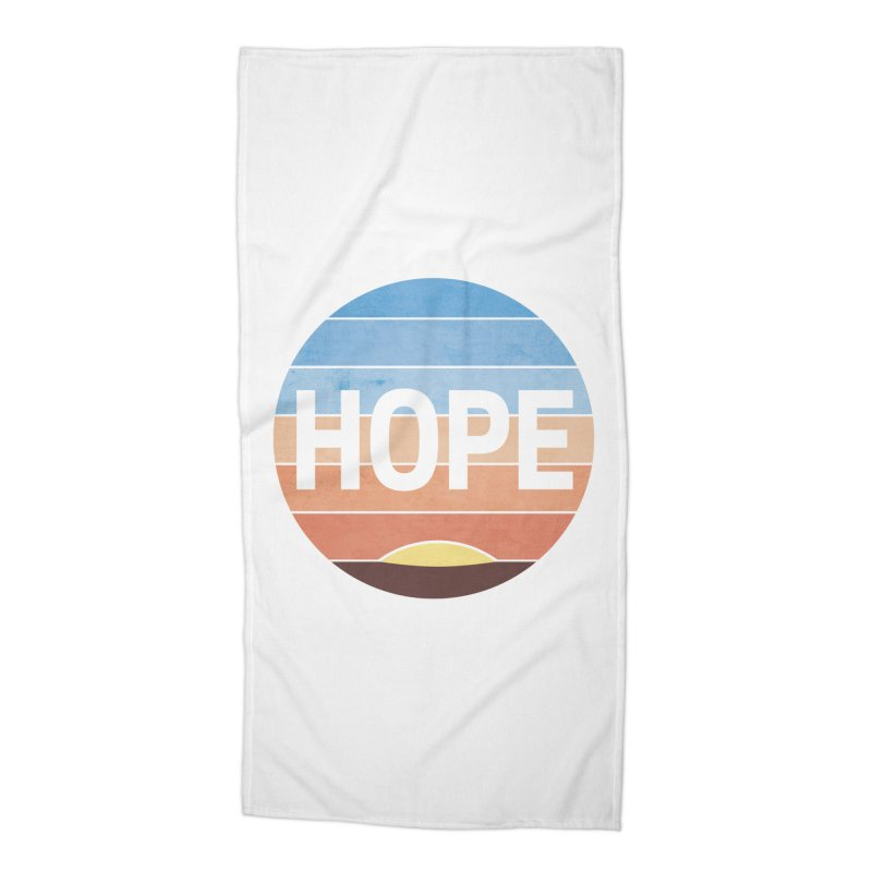 Hope Accessories Beach Towel by Gyledesigns' Artist Shop