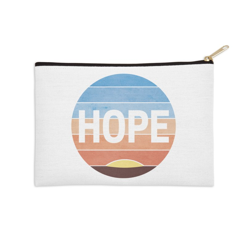 Hope Accessories Zip Pouch by Gyledesigns' Artist Shop