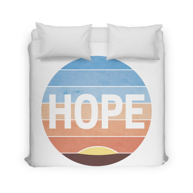 Hope Home Duvet by Gyledesigns' Artist Shop