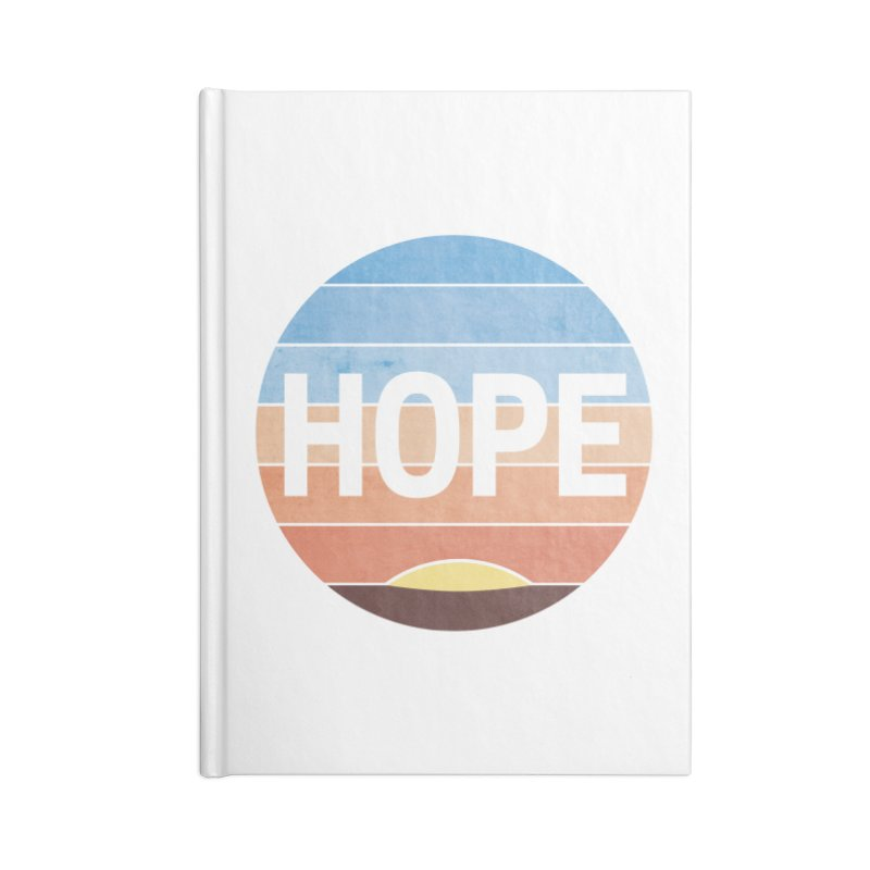 Hope Accessories Lined Journal Notebook by Gyledesigns' Artist Shop