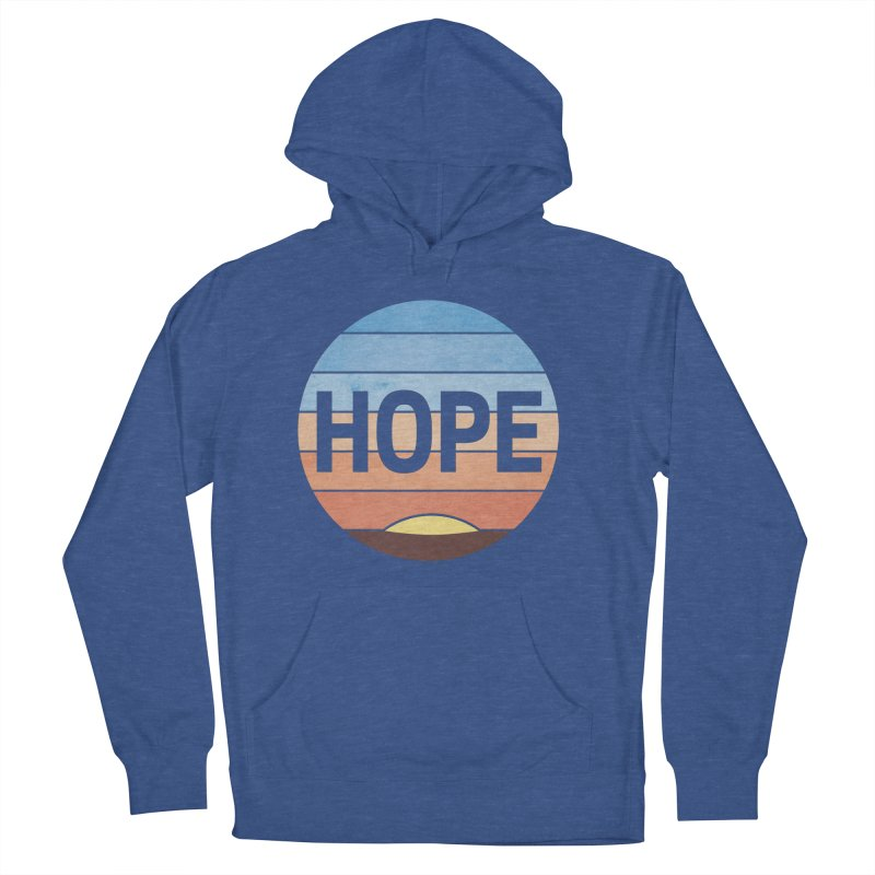 Hope Men's French Terry Pullover Hoody by Gyledesigns' Artist Shop