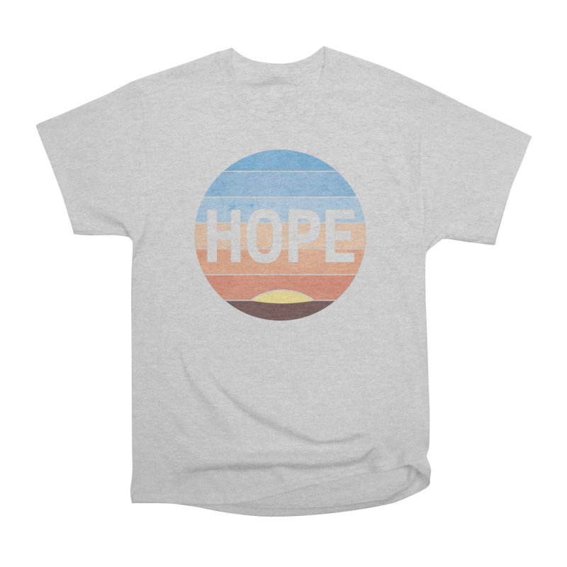 Hope Men's Heavyweight T-Shirt by Gyledesigns' Artist Shop