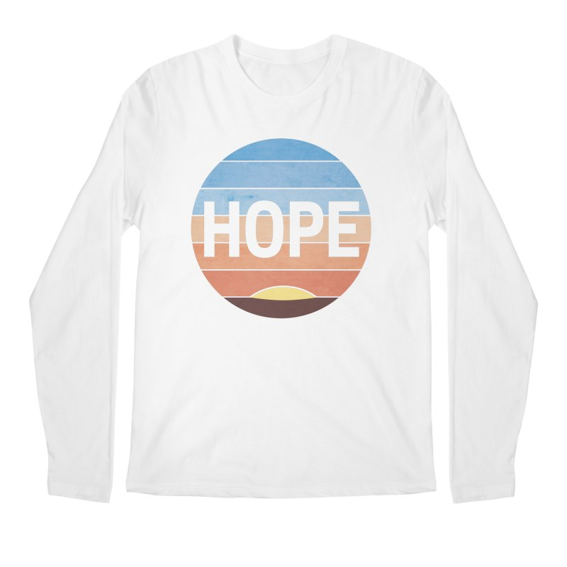 Hope Men's Regular Longsleeve T-Shirt by Gyledesigns' Artist Shop