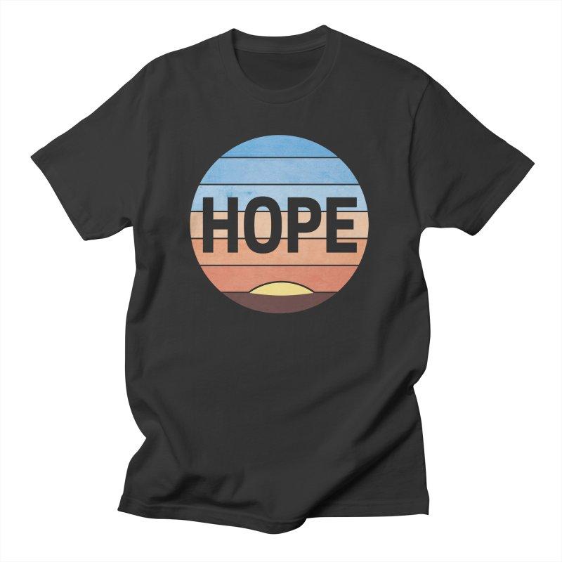 Hope Women's Regular Unisex T-Shirt by Gyledesigns' Artist Shop