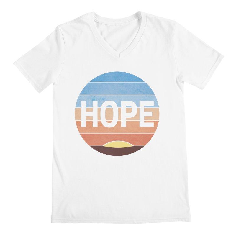 Hope Men's V-Neck by Gyledesigns' Artist Shop