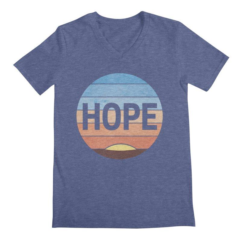 Hope Men's Regular V-Neck by Gyledesigns' Artist Shop