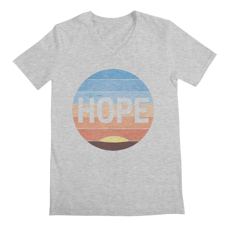 Hope Men's Regular V-Neck by Gyledesigns' Artist Shop