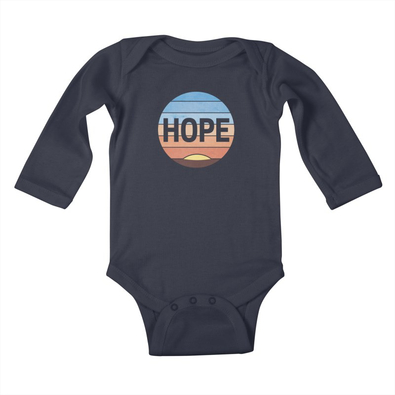 Hope Kids Baby Longsleeve Bodysuit by Gyledesigns' Artist Shop