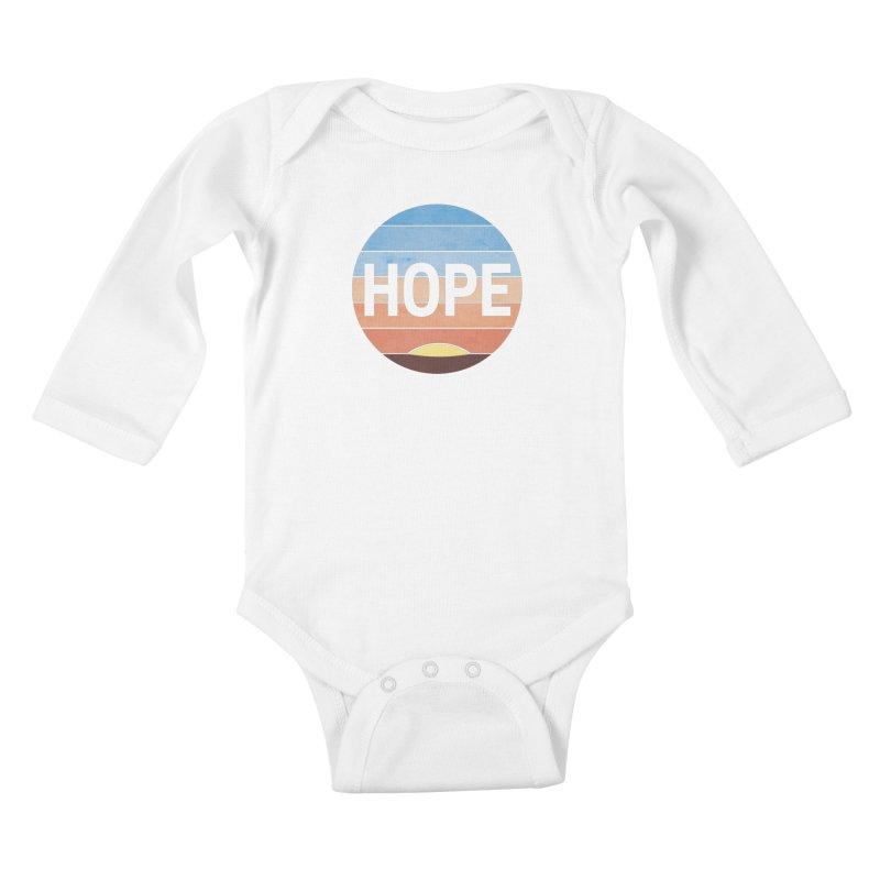 Hope Kids Baby Longsleeve Bodysuit by Gyledesigns' Artist Shop