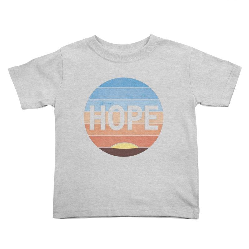 Hope Kids Toddler T-Shirt by Gyledesigns' Artist Shop