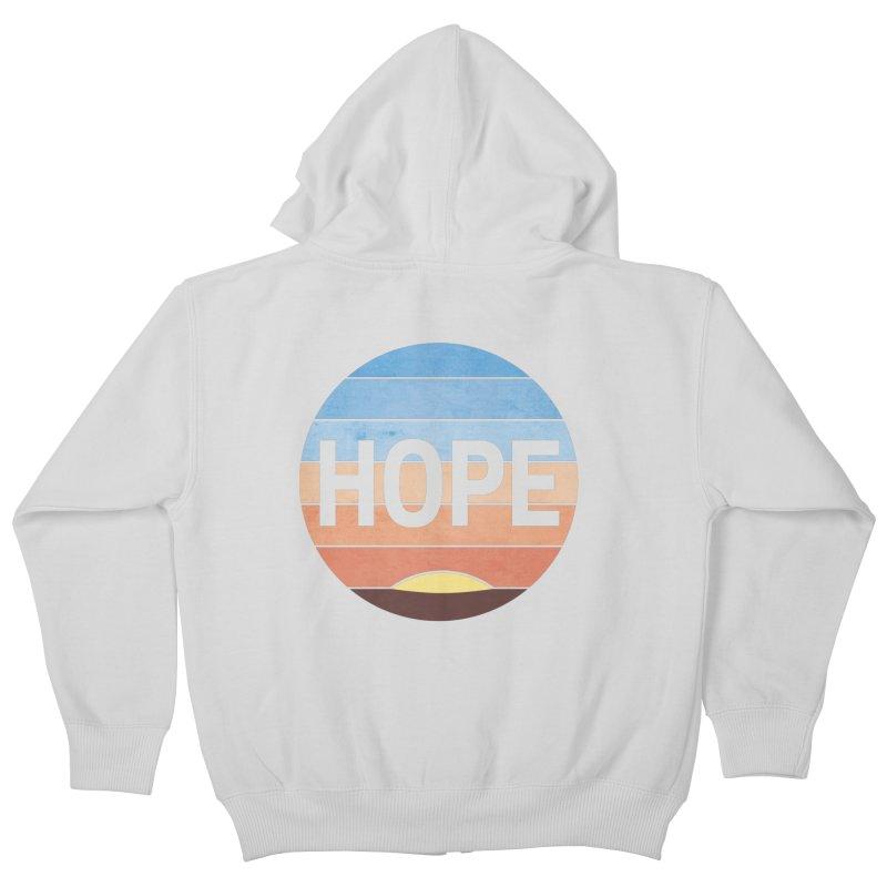 Hope Kids Zip-Up Hoody by Gyledesigns' Artist Shop