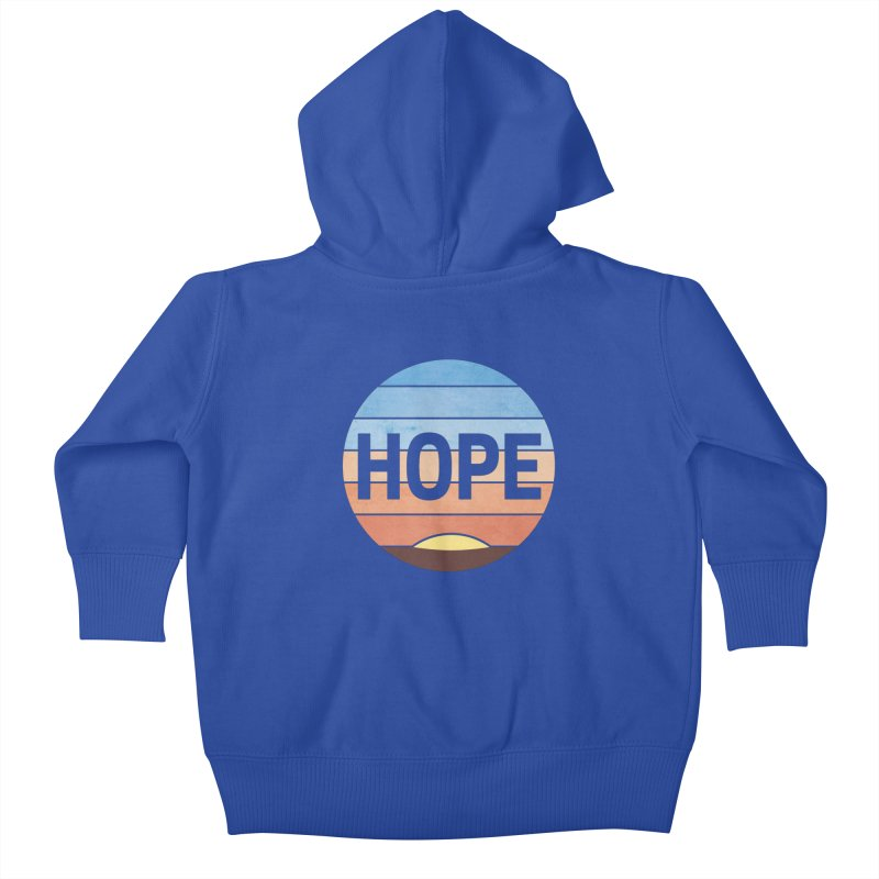 Hope Kids Baby Zip-Up Hoody by Gyledesigns' Artist Shop