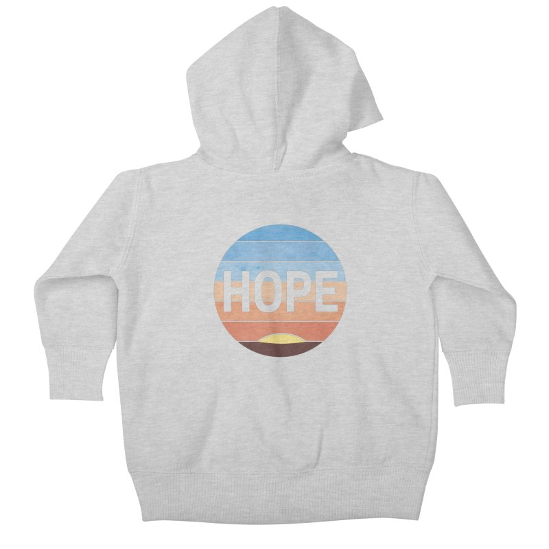 Hope Kids Baby Zip-Up Hoody by Gyledesigns' Artist Shop